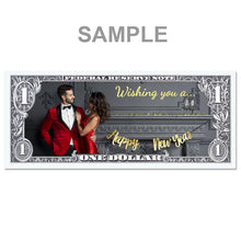 Load image into Gallery viewer, Personalized One Dollar Note