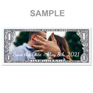 Personalized One Dollar Note