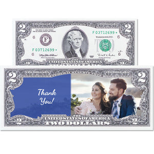 Personalized Two Dollar Note