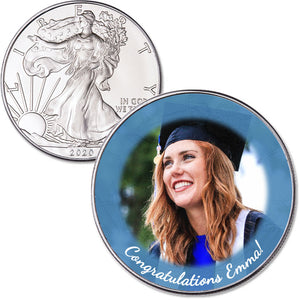 Personalized 2020 American Silver Eagle