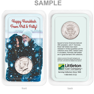 Personalized 2020 Kennedy Half Dollar Showpak