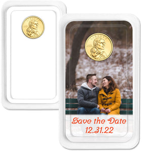 Personalized 2020 Native American Dollar Showpak