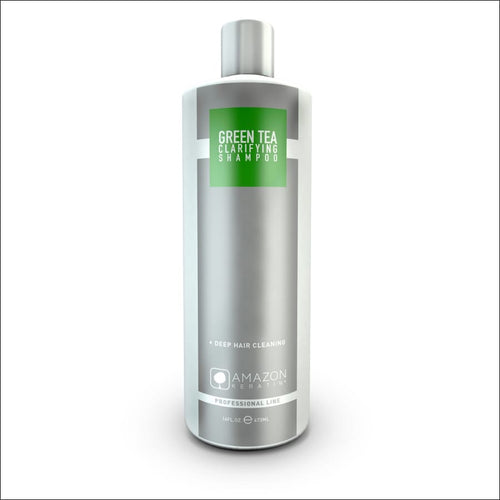 Amazon Keratin Champú Antiresiduos Té Verde 473 ml - JAZZ PELU