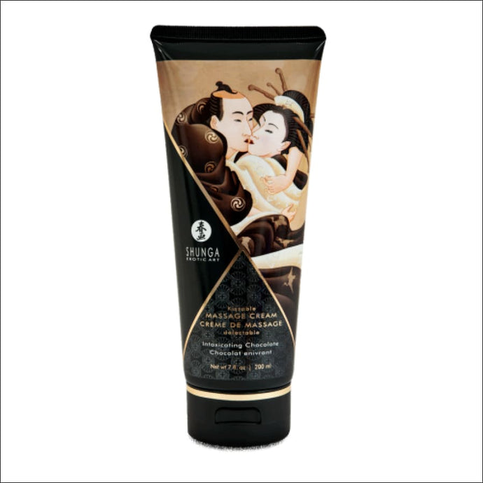 Shunga Crema De Masaje Besable Chocolate 200 ml - JAZZ PELU