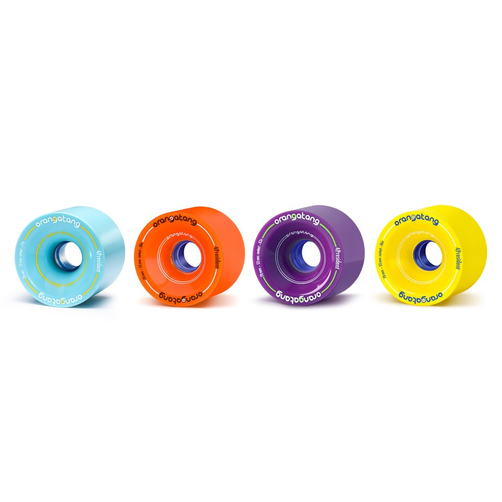 70mm 77a Orangatang 4President Wheels