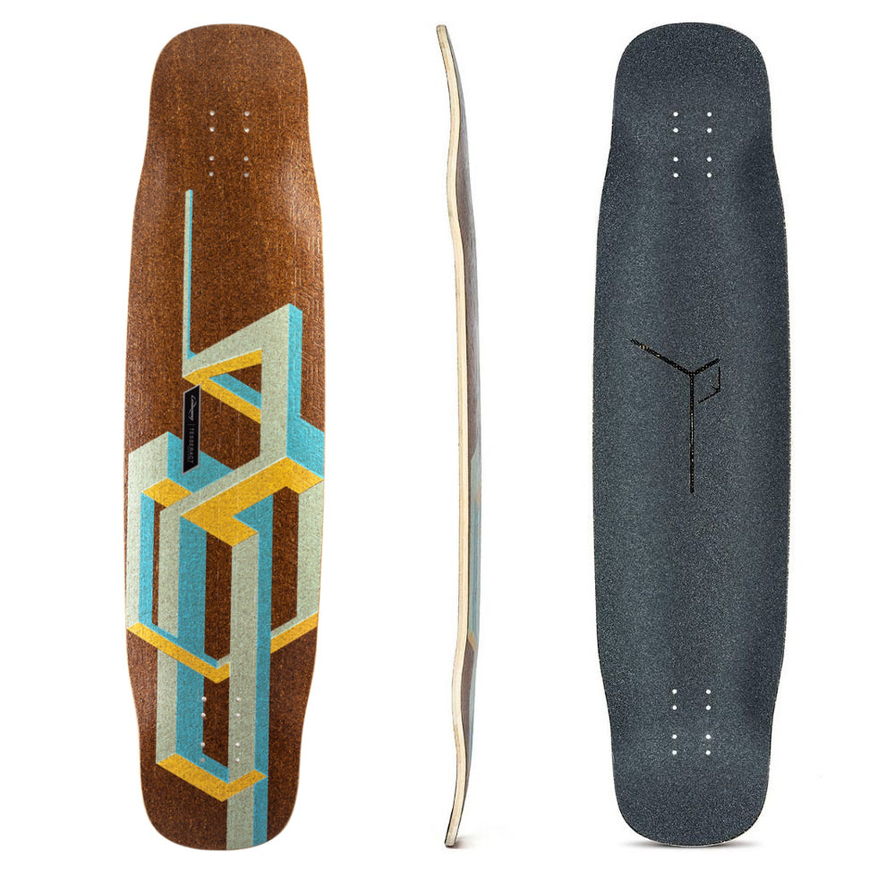 "Loaded Basalt Tesseract Mango 39.0"" Deck"