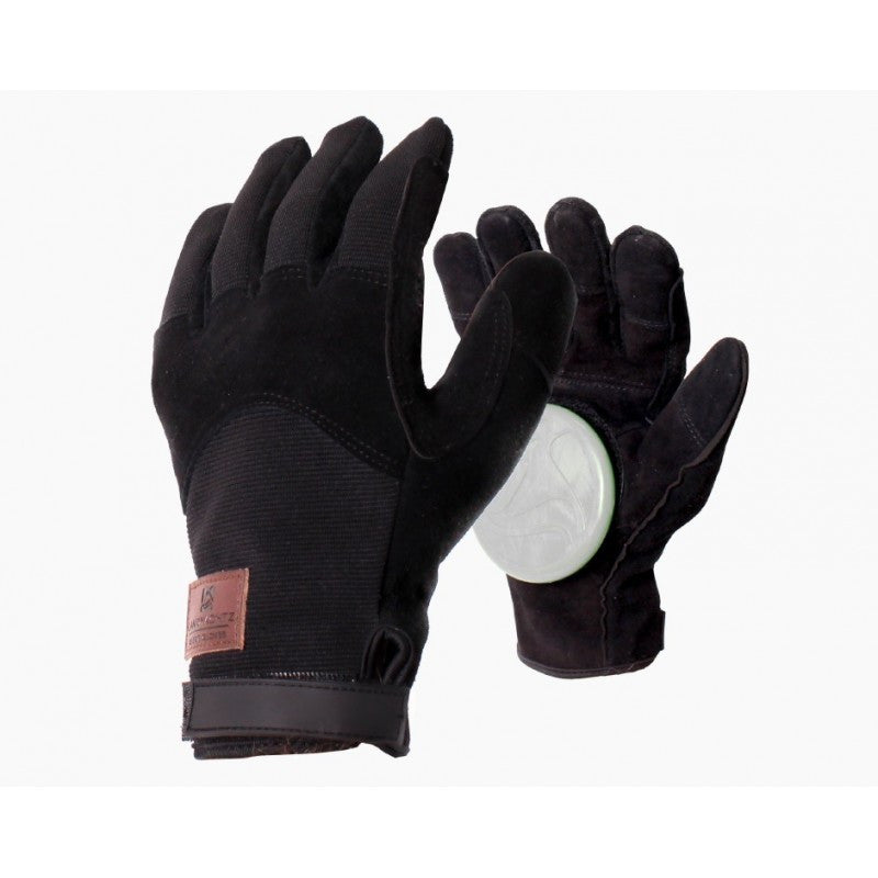 Landyachtz Freeride Leather Patch Slide Gloves