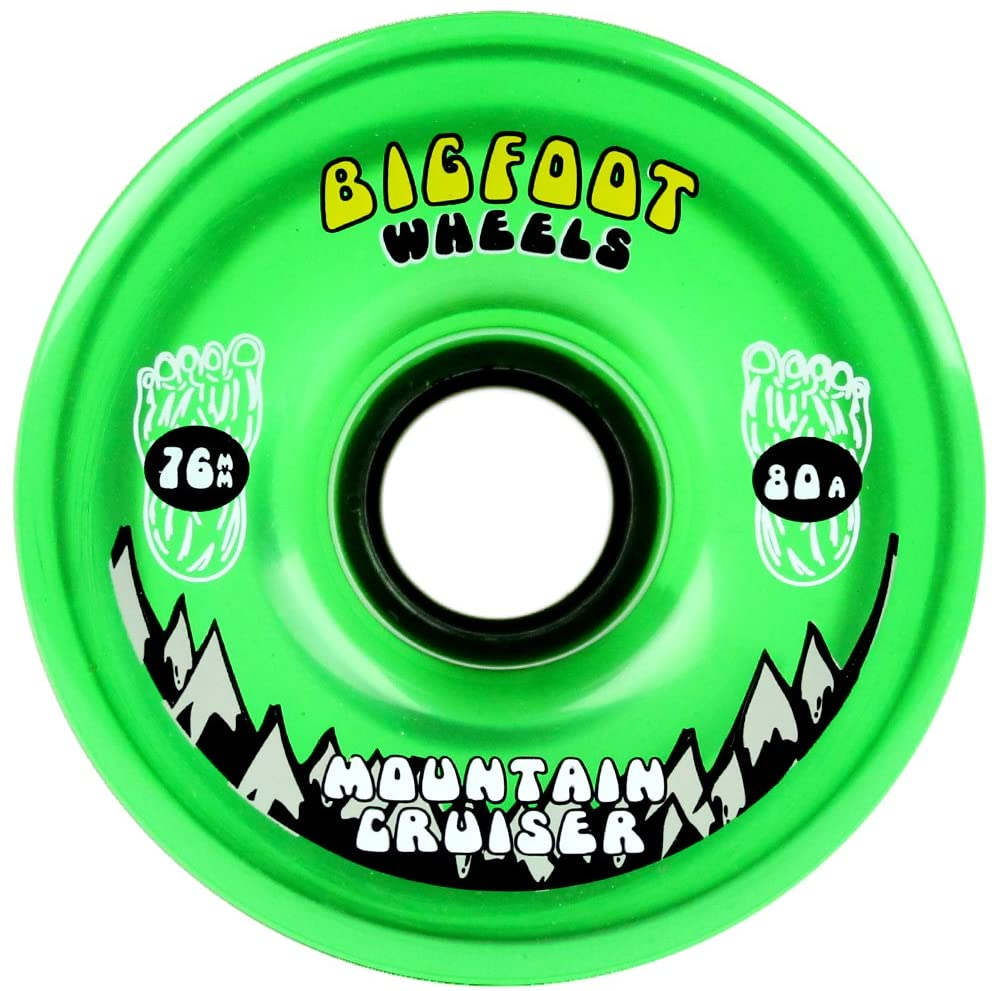 76mm 80a Mountain Cruisers Translucent Green Wheels