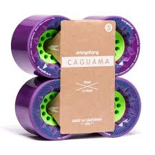 85mm 83a Orangatang Caguama Wheels Purple