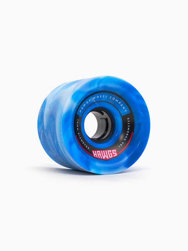 70mm 70's Hawgs Wheels