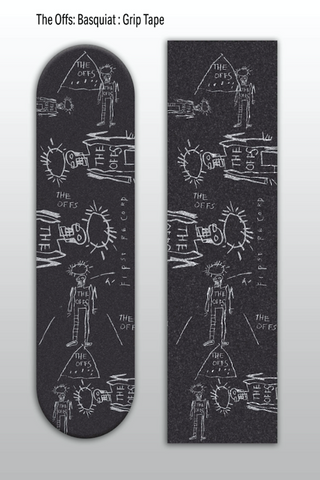 Basquiat The Offs Grip Tape