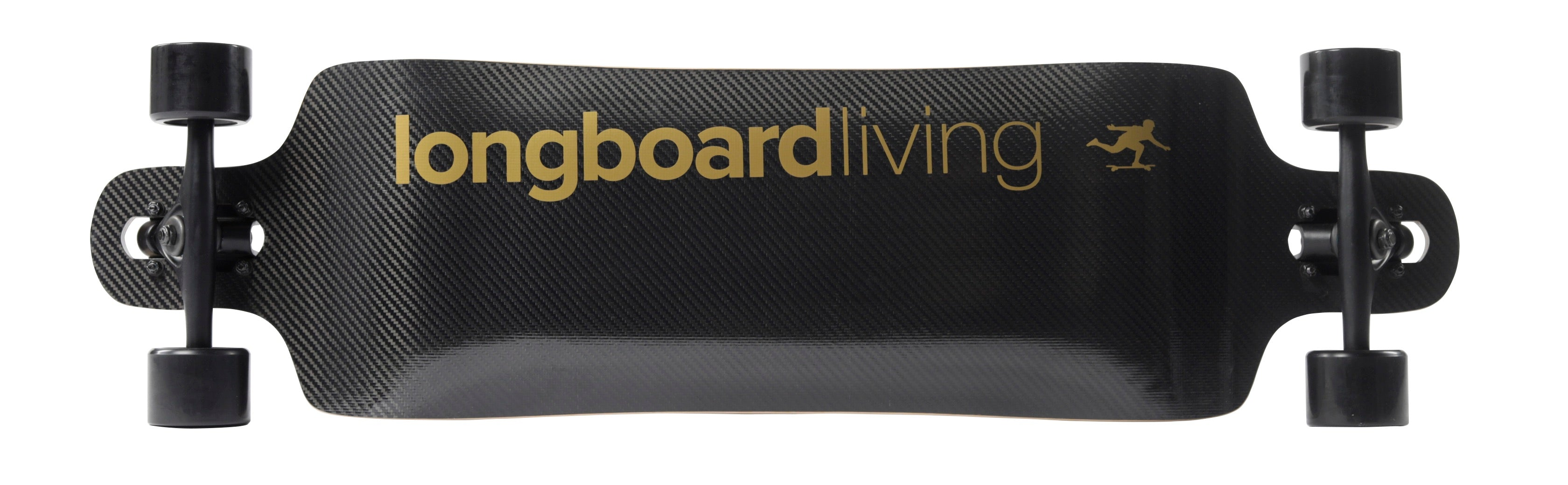 "Longboard Living Double Drop 38"" Carbon Complete"
