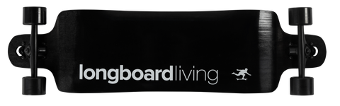 "Longboard Living Double Drop 38"" Complete 2019 with Fibreglass"