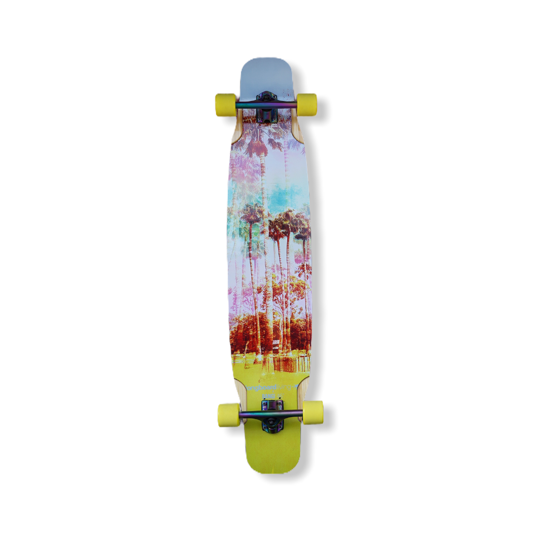 "46"" longboard living x bang boards dancer complete"