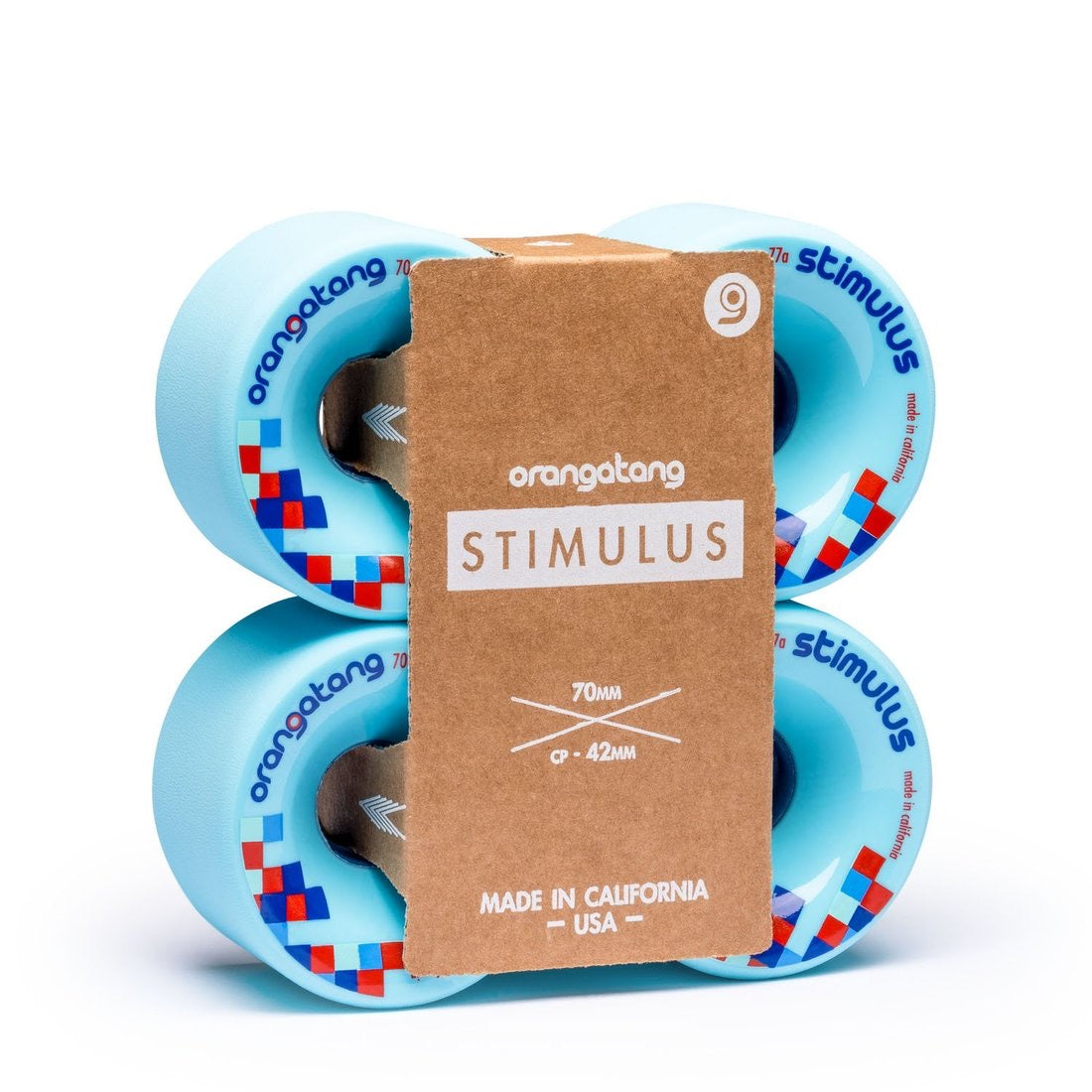 70mm 77a Orangatang Stimulus Wheels