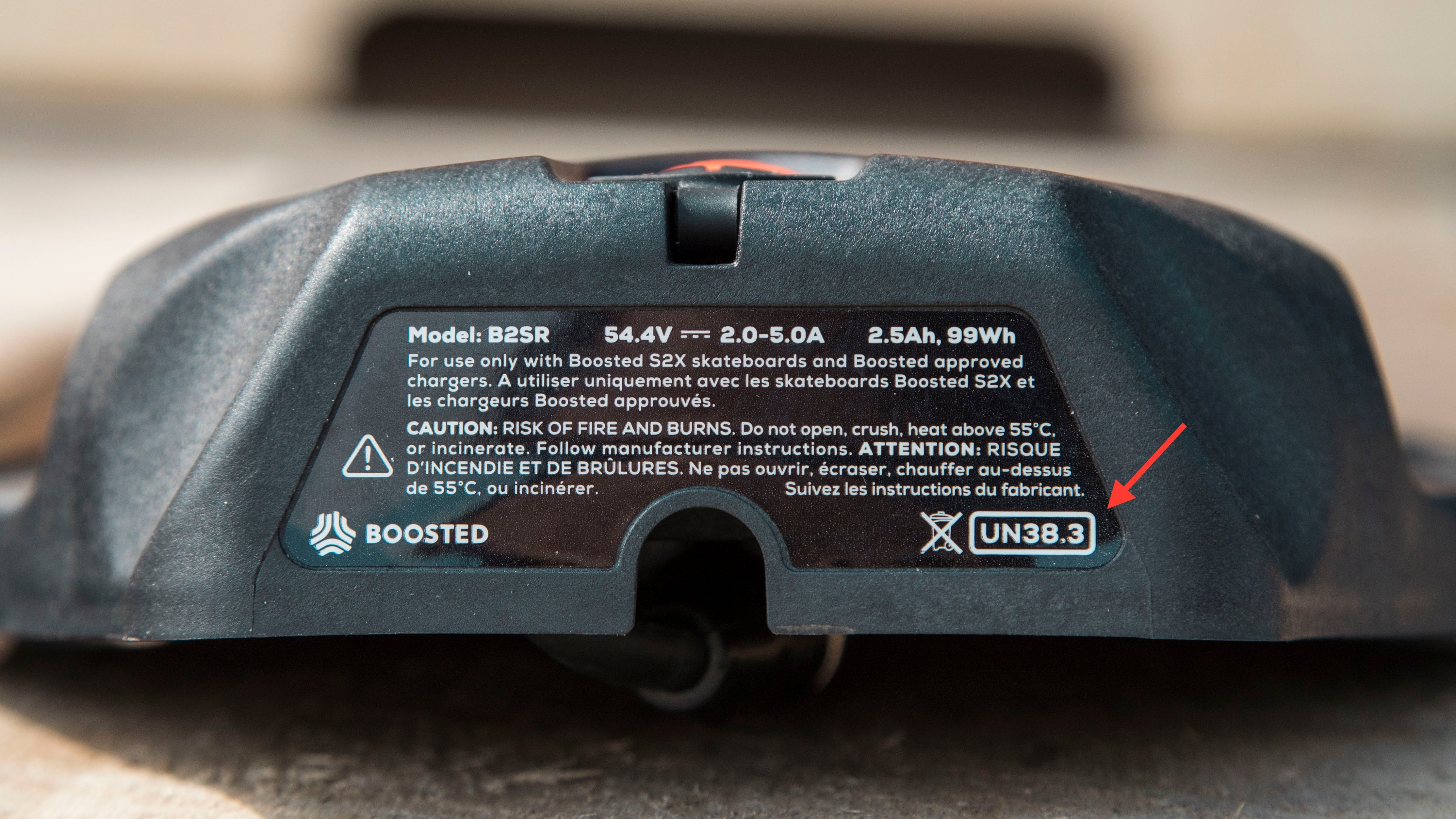 Boosted Boards Standard Range Battery