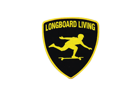 Longboard Living Lambo Patch  6""