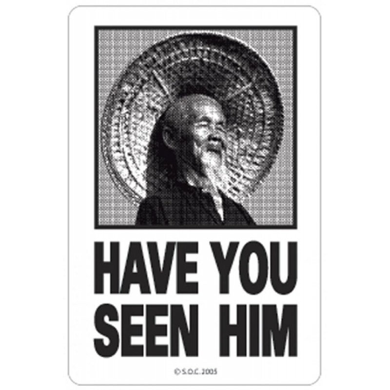 Have You Seen Him Sticker - Powell Peralta