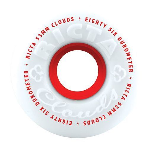 53mm 86a Ricta Clouds Wheels