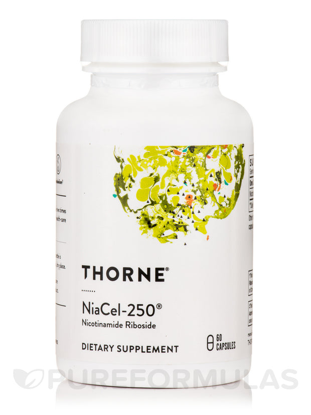 Thorne NiaCel-250 NIcotinamide Riboside - Ken Starr MD