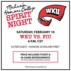 GUEST ONLY - Honors College Spirit Night 2018