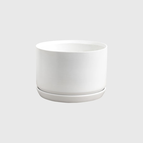 Oslo Planter - Wide White