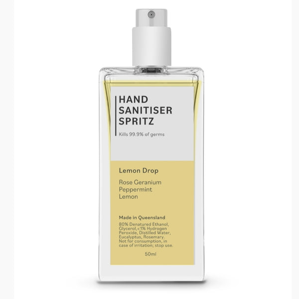 Hand Sanitiser Spritz - Lemon Drop 50ml