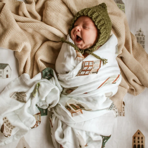 Muslin Swaddle Blanket - This Ole House