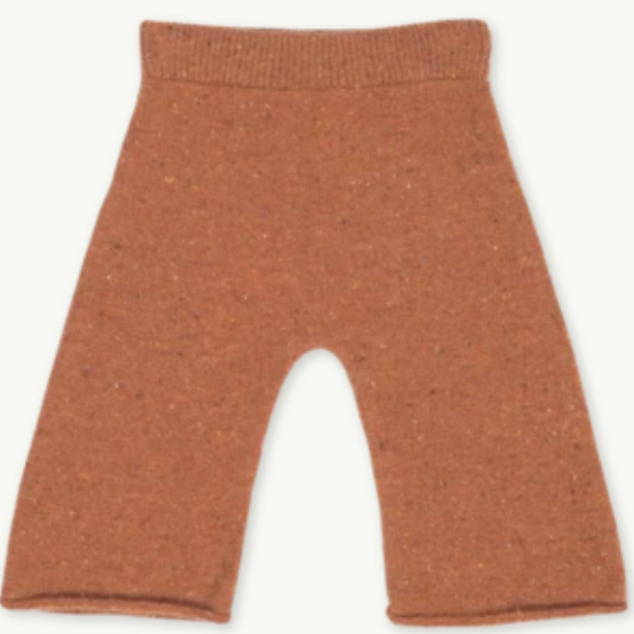 Speckled Merino Pant - Clay