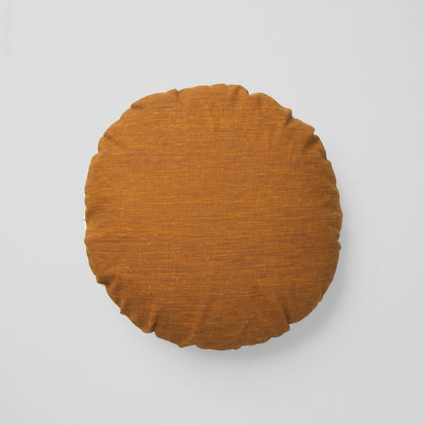 Spot Ochre Cushion