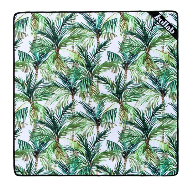 Mini Mat - Green Palm