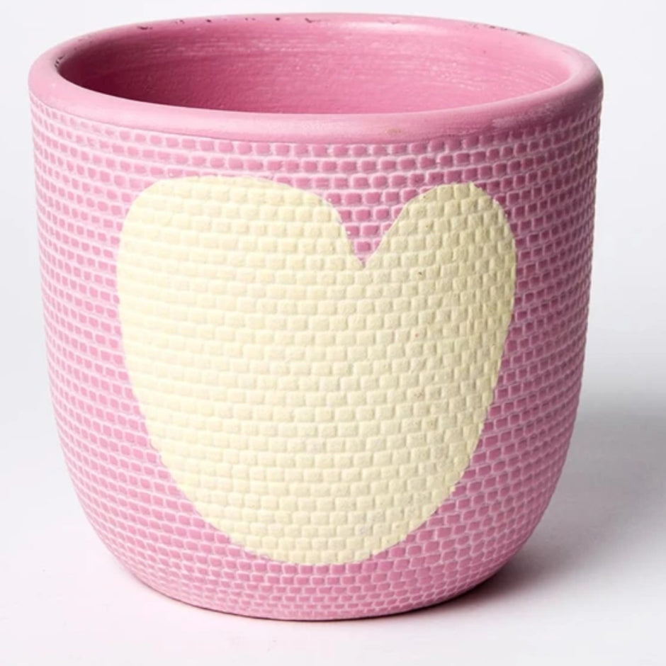 Heart Pot - Lavender