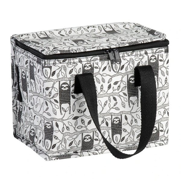 Lunch Box - Sloth Black & White