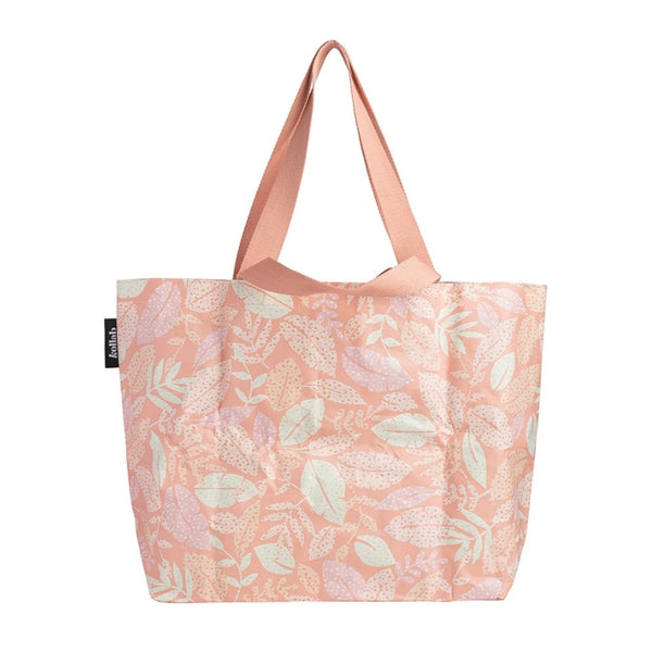 Shopper Tote - Spotty Leaves