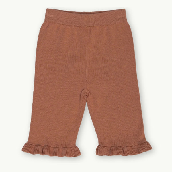 Frill Pant -Terracotta Rose