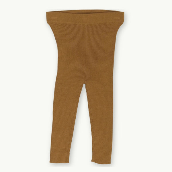 Ribbed Essential Leggings -Marigold