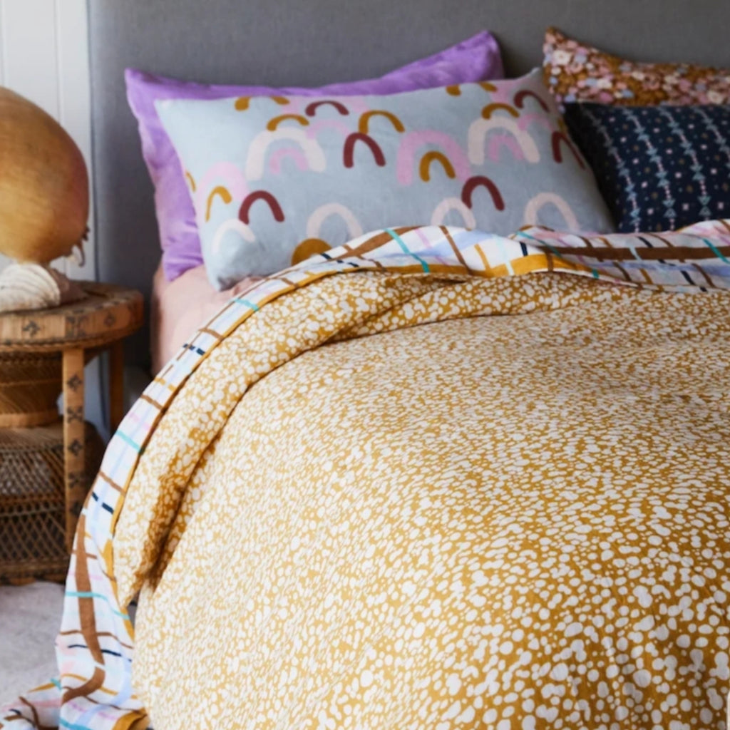 Paloma Linen - Quilt Cover King