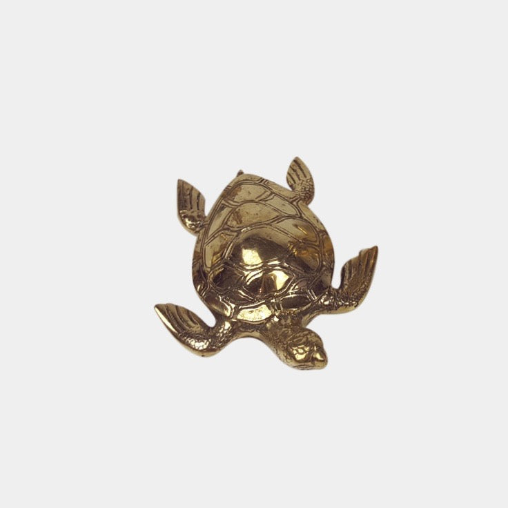 Brass Turtle - Medium