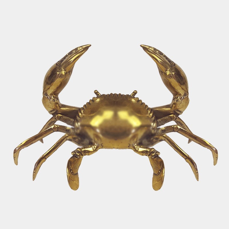 Brass Crab - Large