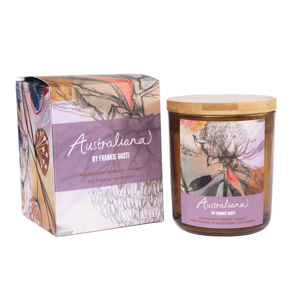 Australian Florals & Honey Candle