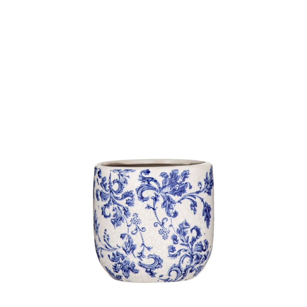 Lucille Pot - Blue Small