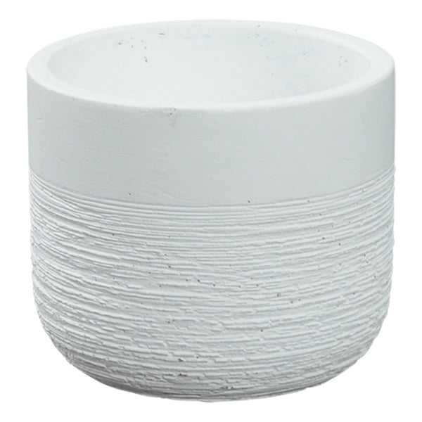 Kari Planter Pot - White Small