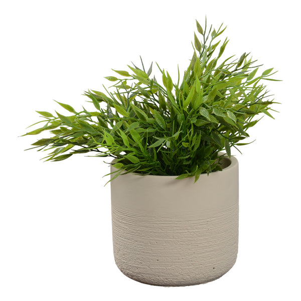 Kari Planter Pot - Sand Small