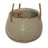 Toscana Hanging Pot - Olive Small