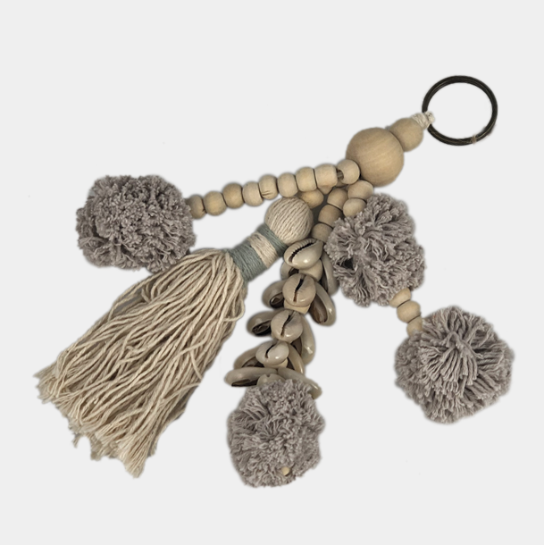 Keyring - Bag it Beige
