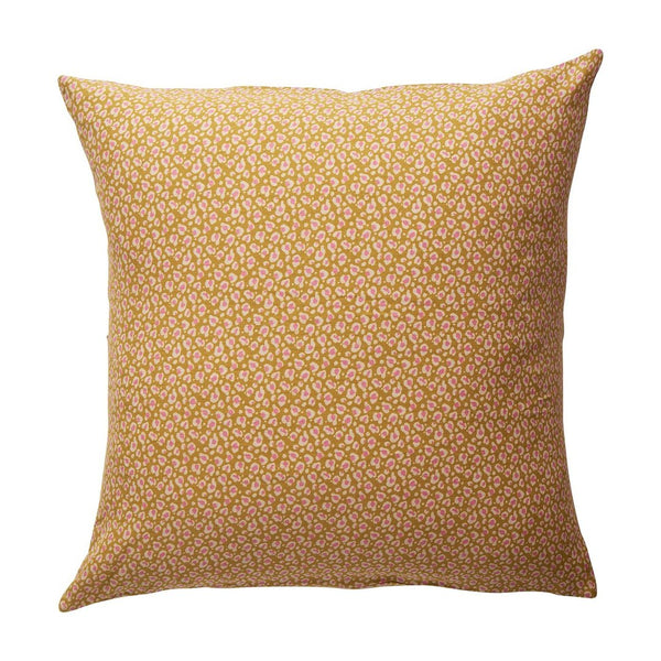 Ajo Linen Euro Pillowcase Set - Honey