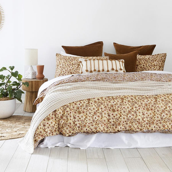Queen Quilt cover Set - Marguerite