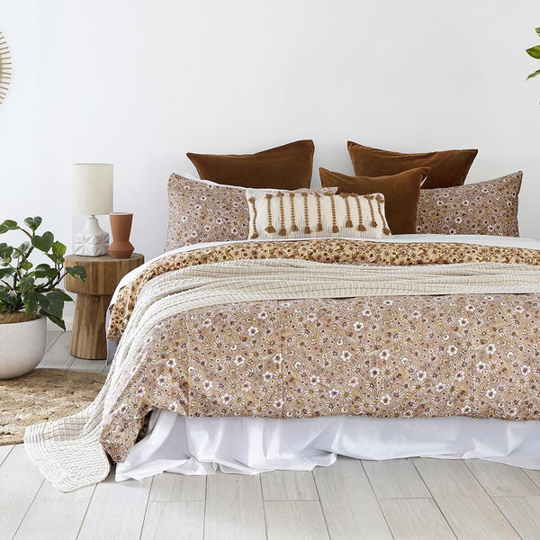 King Quilt Cover Set - Marguerite
