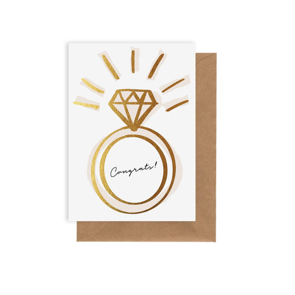 Ring - Greeting Card