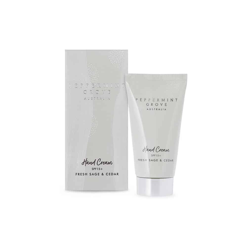 Fresh Sage & Cedar Hand Cream 75ml